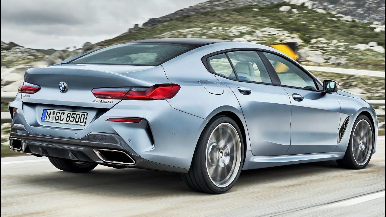2020 bmw m850i xdrive gran coupe - luxury four-door sports car