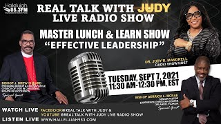 """MASTER LUNCH & LEARN - """"EFFECTIVE LEADERSHIP"""" (9/7/2021)"""