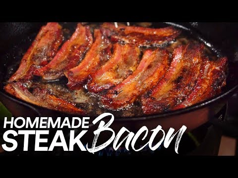 Homemade BEEF BACON, Step by Step to STEAK BACON Perfection!