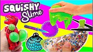 SQUISHY SLIME AUS ANTI-STRESSBALL SPIELZEUG ZERSCHNEIDEN I cutting open squishy toys I PatDIY