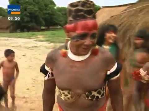 Натуризм Индейцы с реки Xingu (Бразилия). Verborgene Welten Rauchzeichen am Rio Xingu