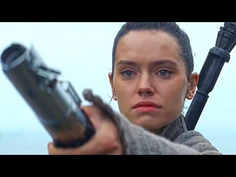 Star Wars THE LAST JEDI Footage - Rey & Luke Skywalker Theory!