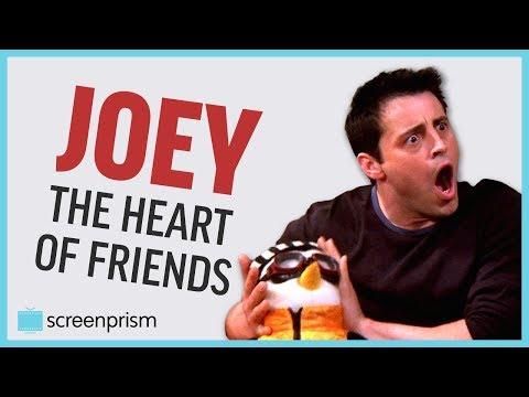 Joey Tribbiani, the Heart of Friends