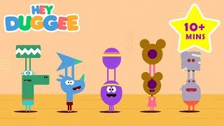 Arts and Crafts with Duggee - 10+ Minutes - Duggee's Best Bits - Hey Duggee