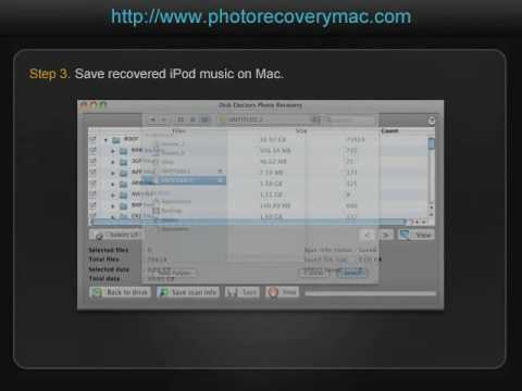 How to recover lost music from iPod to Mac