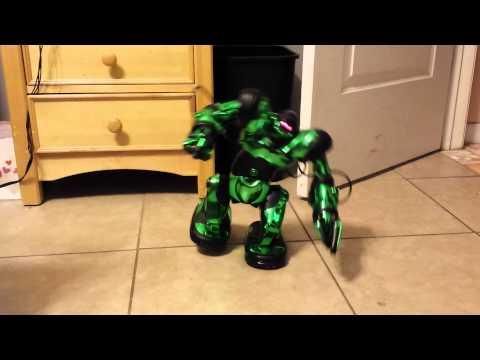 Video of robosapien