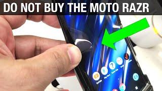 Motorola Razr 2020 - 5 Reasons I AM NOT Buying It