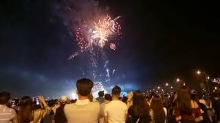Màn bắn pháo hoa đêm giao thừa 15/2/2018 - Phú Cường Rạch Giá