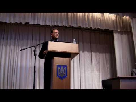 Larry Diamond's lecture in National University of Kyiv-Mohyla Academy, Sep. 2013