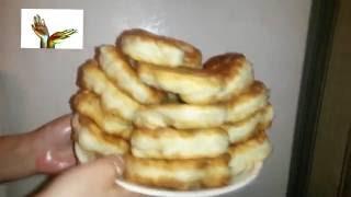 Быстро и вкусно: лепёшки на кефире и простокваше)