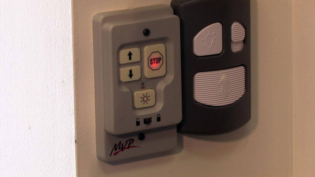 mvp garage door openerHow to Program Your Garage Remote  YouTube