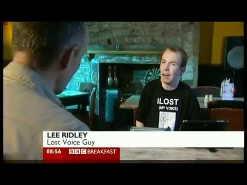Lost Voice Guy featured on BBC Breakfast - 13 April 2012 ...