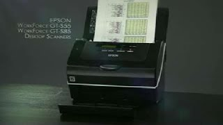 Epson WorkForce Pro GT-S55 and GT-S85 Document Scanners