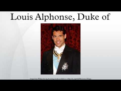 Louis Alphonse, Duke of Anjou