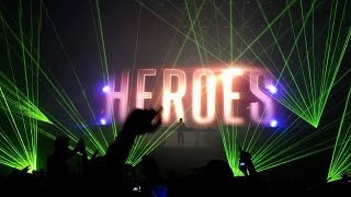 Alesso - Heroes (Hard Rock Sofa & Skidka Remix) @ Globen, Stockholm 2015-04-25
