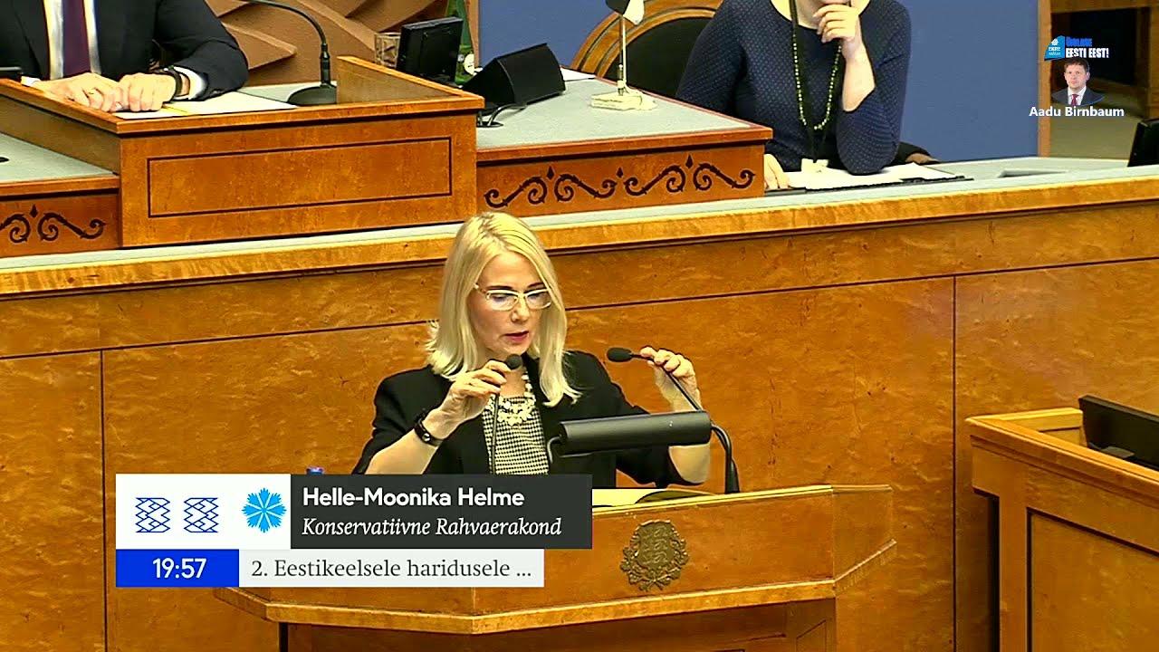 Download Helle-Moonika Helme: Me räägime täna veel asjadest, mis peaksid ammu olema iseenesestmõistetavad