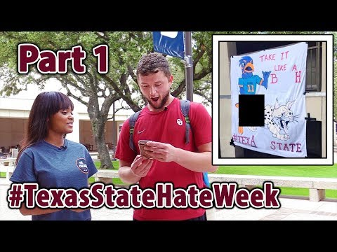 Students React to HateWeek Banner and Email Part 1- Paisano Polls