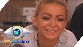 Katja lacht über Tampon-Problem | Tag 13 | Promi Big Brother 2018 | SAT.1