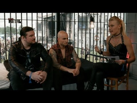 IN THE CELL : TRIVIUM / PAOLO & COREY
