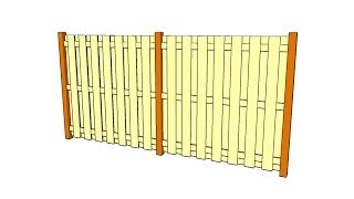 Wooden Fence Plans