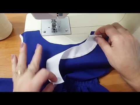 0 - Як оформити горловину сукні красиво?