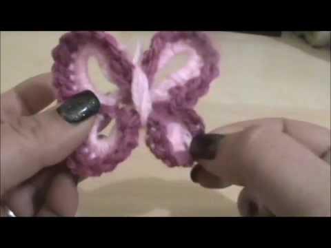 Πλεκτή πεταλούδα   Για αρχάριους και όχι μόνο 2ο μέρος