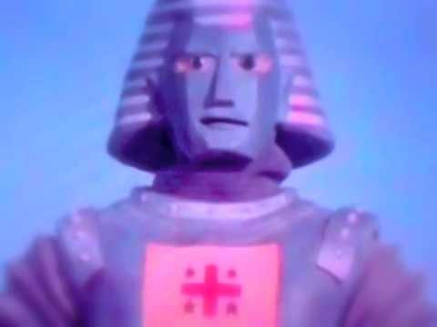 blue giant alien robot beings