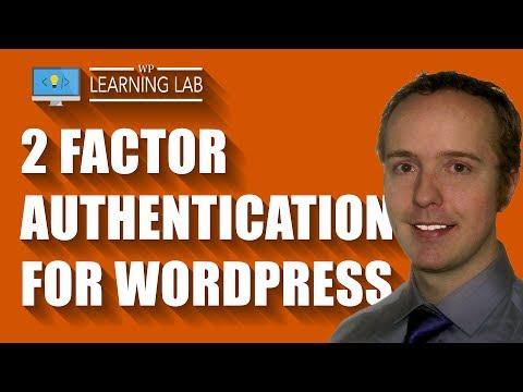 Google two factor authentication wordpress