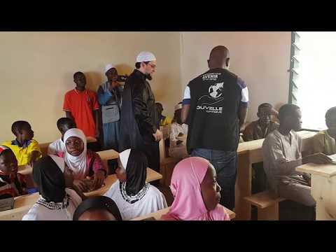 Distribution de corans au Ghana !