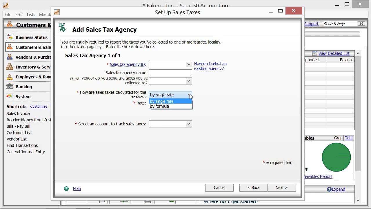 Quickbooks pro 2016 tutorial setting sales tax preferences intuit.