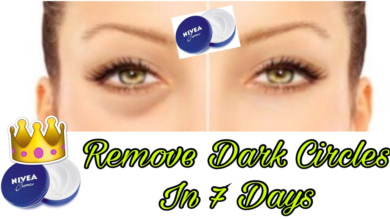 Apply Nivea Cream on Under Eye dark Circles and See the ...