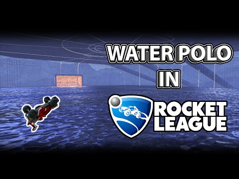 WATER POLO in Rocket League is AMAZING thumbnail