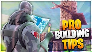 PRO BUILDING TIPS! 3 Advanced Building Tips to Improve Fast! (Fortnite Battle Royale)
