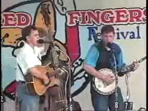 Gibson Brothers  performing at the 1994 Blistered Fingers Bluegrass Festival in Maine