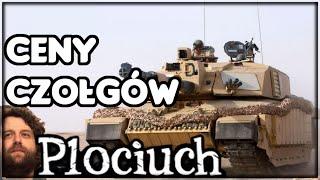 Plociuch #25 - Najdroższe i najtańsze czołgi świata - Koszty wojny
