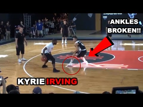Thumbnail: Kyrie Irving plays 1 on 1 VS Regular People, Shows Off Handles and 3 Point Shooting