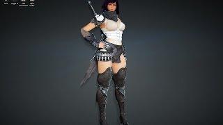 Black Desert MMORPG - Kunoichi
