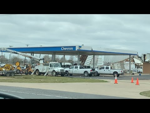 Alexandria \ Pineville Louisiana Tornado Damage 12/16/2019