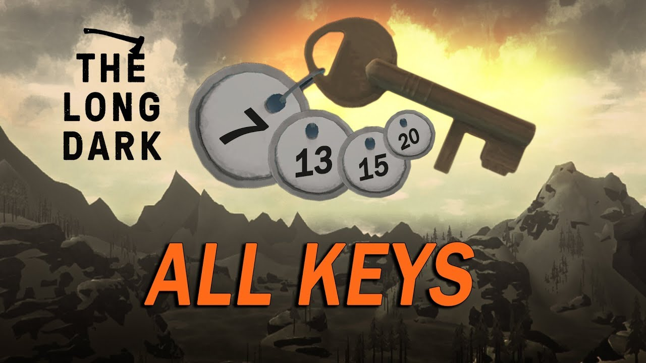 The Long Dark Wintermute All Bank Deposit Box Keys Too Big To