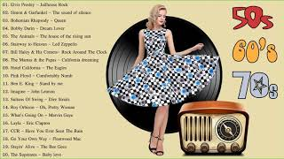 Classic Rock 50s 60s 70s | Best Rock Songs Of 50s 60s 70s