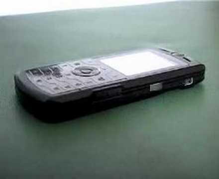 Motorola SLVR L7 video sul design