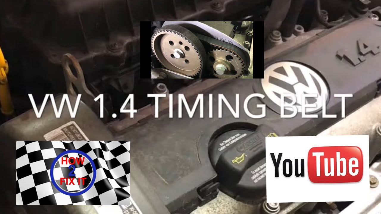 how to change a belt on a vw