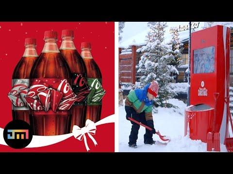 10 najlepszych świątecznych akcji Coca-Coli