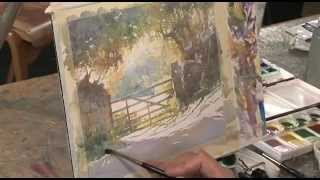 Painting Atmospheric Watercolour Landscapes With Robert Brindley RSMA