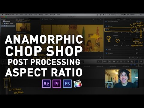 Stretching Anamorphic Footage To Its Proper Aspect Ratio