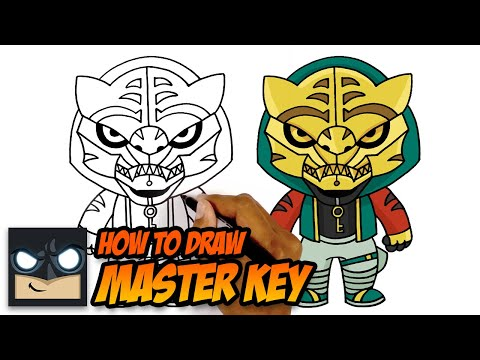 HOW TO DRAW FORTNITE | MASTER KEY