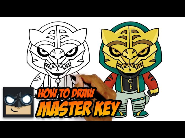 HOW TO DRAW FORTNITE | MASTER KEY - Videos For Kids