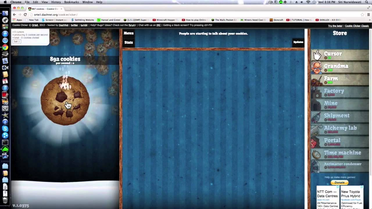 How to become a COOKIE CLICKER CHAMPION