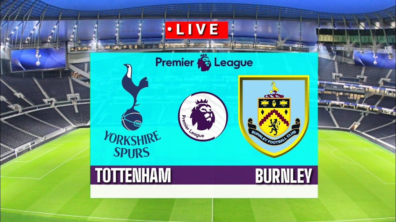 ???? [Trực Tiếp] Tottenham Hotspur vs Burnley premier league 2020/2021||Pes17
