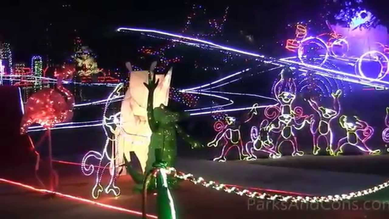 HD 2014 LA Zoo Lights Overview Los Angeles California Christmas Holidays - YouTube : zoo lighting - azcodes.com